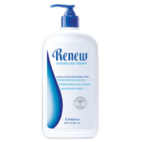 Renew Body Lotion 20oz bottle (shown with pump)